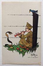 CPSM. BAR LE DUC. 55 - Illustrateur HARDY. Guerre 1940. Camp. Musique. Serpent.