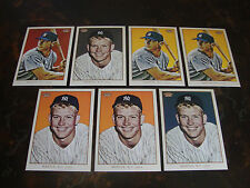 2009 Topps 206 Baseball---Mantle Checklists---Lot Of 7---See List