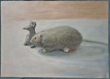 Gemälde Mäuse, Acryl, A. Netkal