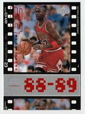 Michael Jordan 98 Upper Deck Timeframe  88-89 SCORES 10000 POINT Basketball card