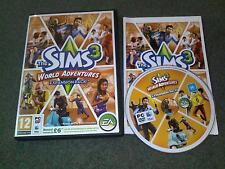 Les Sims 3 World Adventures Expansion Pack PC Windows Ou Mac