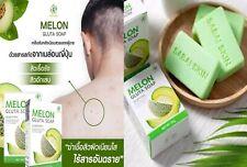 2x70g MelonGluta soap acne rash itch eczema mold clear sensitive skin sweat odor