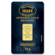 10 gram Gold Bar - Istanbul Gold Refinery (In Assay) - SKU #61575
