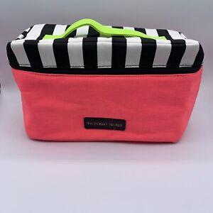 Victorias Secret Womens Sexy Little Things Travel Bag Bras Lingerie Pink