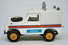 1:32 Britains 9610 SWB 1975 LAND ROVER POLICE / Farm Vehicle Very Good Condition
