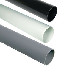 Soil Pipe 110mm 92cm length or 3ft Black White Grey