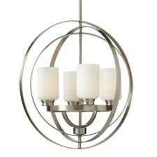 Home Decorators Collection 24 in. 4-Light Brushed Nickel Chandelier
