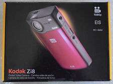Kodak Zi8 Pocket Video Camera Black - NEARLY NEW IN ORIGINAL PACKAGE