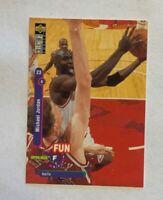1995 Upper Deck Collector's Choice Fun Michael Jordan#169