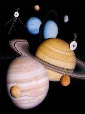 Spazio Impression pianeta sistema solare VOYAGER LARGE poster art print bb3245a