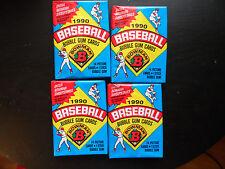 1990 Bowman Baseball cards 4 UNOPENED PACKS HOF Frank Thomas ROOKIE, Sosa Rc