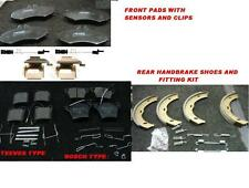 MERCEDES VITO V CLASS CDi W638 96-03 BRAKE PAD FRONT REAR HBRAKE SHOE FITTINGS