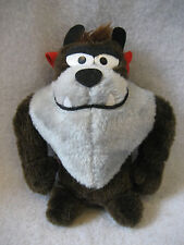 "1971 vintage Tazmanian Devil Mighty Star plush figure 8"" toy Warner Brothers !"