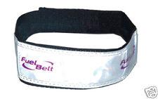 Fuelbelt reflective brazo banda reflectante pulsera plata