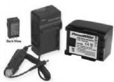 Battery + Charger for Canon HFS30 HFG10 HFM40 HFM400 HFM32