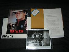 Original NEXT OF KIN Periodical Press Kit 10 PICS 30 Pages PATRICK SWAYZE