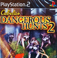 Cabela's Dangerous Hunts 2 PS2 - NEW SEALED + FREE SHIP