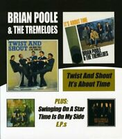 TWIST and SHOUT/ITS ABOUT - POOLE BRIAN/and THE TREMELOES [CD]