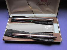 CROSS CENTURY 14KT. G.F.  COUPLES BALL POINT PENS SET &  WITH  POUCH