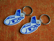 CONTINENTAL AIRLINES Keychain Continental Airlines Airplane Key Ring