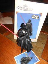 Hallmark Keepsake Darth Vader Star Wars Ornament new in box 2002