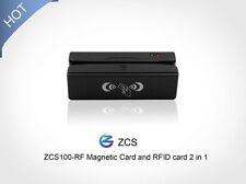 ZCS100-RF USB  magnetic swipe card reader RFID card reader writer