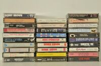 Lot of 29 POP ROCK R&B 1980's  1990'S Music Cassette Tapes ROCK,POP, R&B