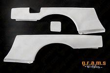 GTR Style Rear Fenders +50mm for Nissan Skyline R34 Wide Body Conversion v8