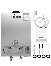 New! HB Haobang Gas Water Heater 6L Instant Tankless
