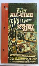 2004 Topps All Time Fan Favorites NFL Football Factory Sealed Hobby Box