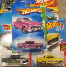 HOT WHEELS 55 CHEVY 3 OF