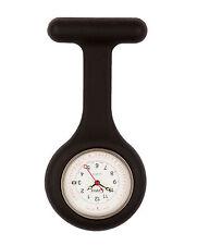 Censi Silicona Médico Enfermero reloj de bolsillo Con Broche Para Túnica Fecha