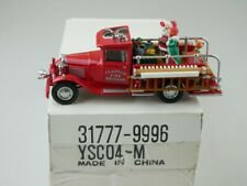 YSC04 1932 Ford AA Pick Up Feuerwehr - 47083 Matchbox Yesteryear Dinky Collectib