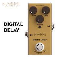 NAOMI Mini Single Delay Guitar Effect Pedal Digital Delay Effects Pedal