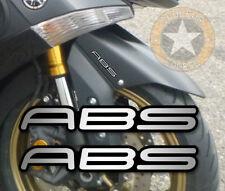 SET DE 2 X ABS POUR TMAX YAMAHA SCOOTER LONGUEUR 8cm AUTOCOLLANT STICKER AB036