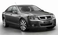 HOLDEN CAPRICE REAR WINDOW SPOILER - MATTE BLACK