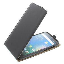 Custodia Per Acer Liquid Z630 Modello Flip + Pellicola Protettiva Nera