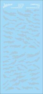 Camouflage binary code 1/24 (190x90 mm) grey Waterslide decal CAM30-24-11