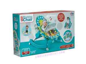 BABY ROCKING CHAIR WITH ADJUSTABLE SEAT AND MUSIC FOR PLAYING NEW- 30% CHEAPER