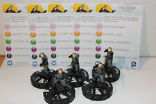Justice League Trinity War #009 D.E.O. Agent (C) x 5 Figures Set