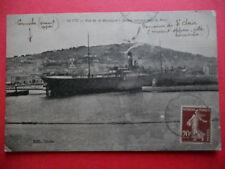 CETTE  :  Bateau Entrant dans le Port......VO.1920.