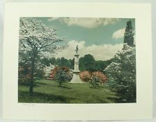 Vintage Valley Forge Monument Historical Park Photo Photograph Art Print