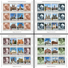 More details for sao tome & principe pope john paul ii stamps 2020 mnh pastoral visits 4x m/s