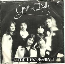 GUYS 'N' DOLLS - HERE I GO AGAIN / CAN'T YOU HEAR THE SONG - 70s POP VOCAL 1975