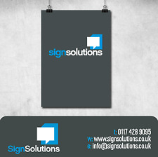 A1 PVC POSTER PRINTED OUTDOOR SIGN PVC BANNER VINYL BANNER POSTER