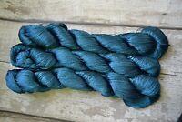 yarn Vegan Silk, embroidery thread, 100g 500m, crochet yarn, kumihimo