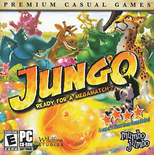 JUNGO Jungle Color Beautiful Colorful Puzzle Game for WIndows PC XP/Vista NEW CD