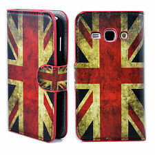 Card ID Holder Leather Flip Cover Case Pouch For Samsung Galaxy Ace 3 III S7272