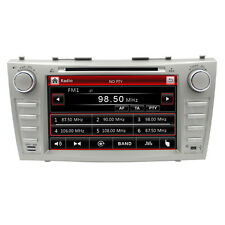 "8"" in dash 2din head unit car dvd player gps navigation for toyota Camry Aurion"