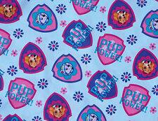 PAW PATROL  100% COTTON FABRIC  RUBBLE SKYE NICKELODEON  DAVID TEXTILES  YARDAGE